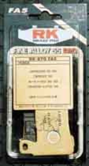 RK FA5 ブレーキパット RK-850FA5 ブレンド4P (1ピン)