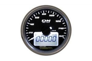 武川 12Vバッテリー電源専用φ55ミディアムDNスピードメーター(ホワイトLED)