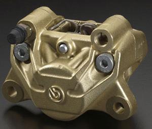 ブレンボ デカカニ2potキャスティング(ゴールド)34mmピストン