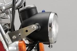 シフトアップ NEO CLASSIC ヘッドライトケースダケ(黒塗装)