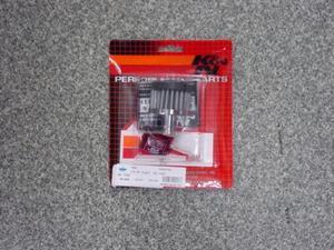 K&N ブリーザーフィルター SR400 ホース取り付けタイプ