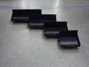 シグネット ツールケース用トレイセット4pc ブラック