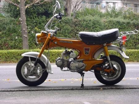 ダックス70  改造88CC