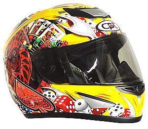セプトゥ 限定ヘルメット ジョーカー (イエロー)フリー(57~59) 激安